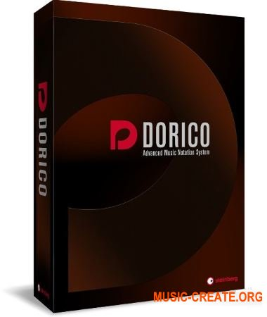 Steinberg Dorico v1.0.20-V.R (Patch Only) - нотный редактор