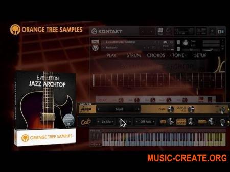 Orange Tree Samples Evolution Jazz Archtop (KONTAKT) - библиотека звуков джазовой гитары