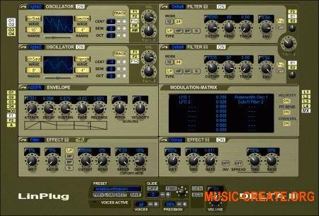 LinPlug Delta III v3.0.5 (Team R2R) - синтезатор