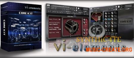 VI-elements Core Kit (KONTAKT) - библиотека ударных