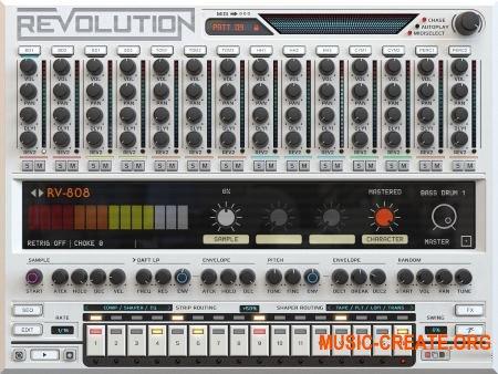Wave Alchemy Revolution v1.1 (KONTAKT) - библиотека звуков драм-машин