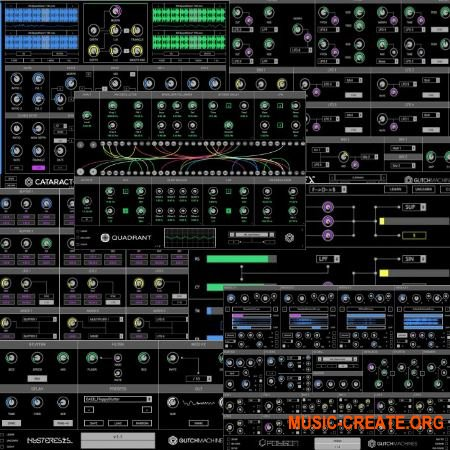 Glitchmachines Plugins Total Bundle WiN / OSX - сборка плагинов