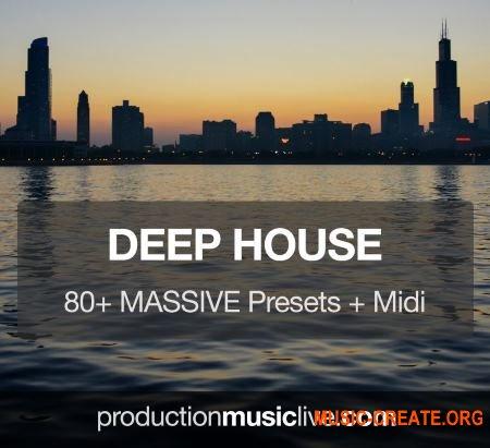 Production Music Live Massive Presets Vol.1 Deep House (Massive presets)