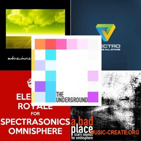 Plughugger Bundle Soundset for Omnisphere 1&2