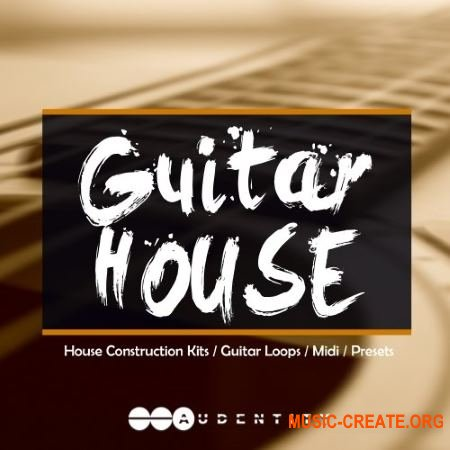 Audentity Records GUITAR HOUSE (WAV MIDI Spire / Harmor / Serum presets) - сэмплы акустической гитары
