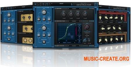 Blue Cat Audio Blue Cat's Destructor v1.11 CE (Team V.R) - плагин дисторшн