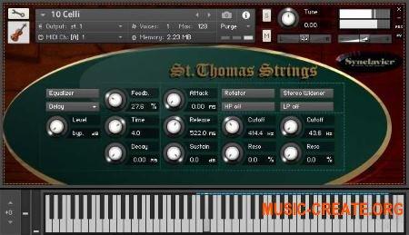 St.Thomas Strings от Synclavier - библиотека струнных (KONTAKT)