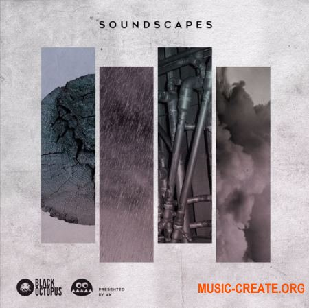 Black Octopus Sound Soundscapes Presented By AK (WAV) - сэмплы Ambient