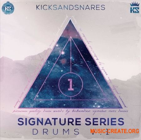 Kicks and Snares Signature Series (WAV) - сэмплы ударных