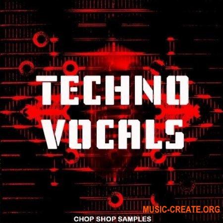 Chop Shop Samples Techno Vocals (WAV) - вокальные сэмплы