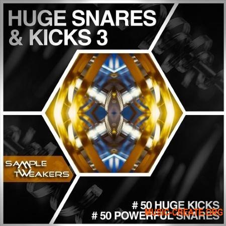 Sample Tweakers Huge Snares And Kicks Vol 3 (WAV) - сэмплы ударных