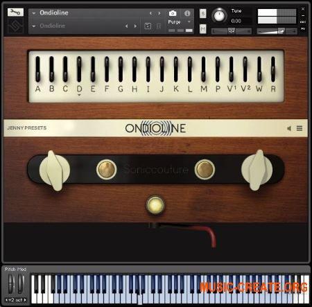 Soniccouture Ondioline (KONTAKT) - синтезатор 40-60х годов