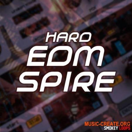 Smokey Loops Hard EDM Spire (WAV MiDi SPiRE) - сэмплы EDM