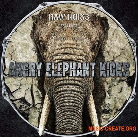 Raw Nois3 Angry Elephant Kicks (WAV) - сэмплы бас-барабанов