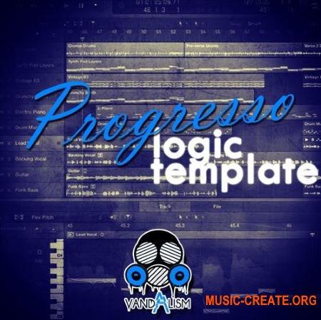 Vandalism Sounds Logic X Template Progresso - Logic X проекты