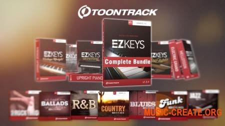 Toontrack EZkeys Complete 1.2.4 x86 x64 VSTi AAX RTAS Unlocked - сборка библиотек