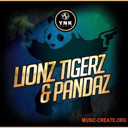 YnK Audio Lionz Tigerz and Pandaz (WAV MiDi) - сэмплы Trap