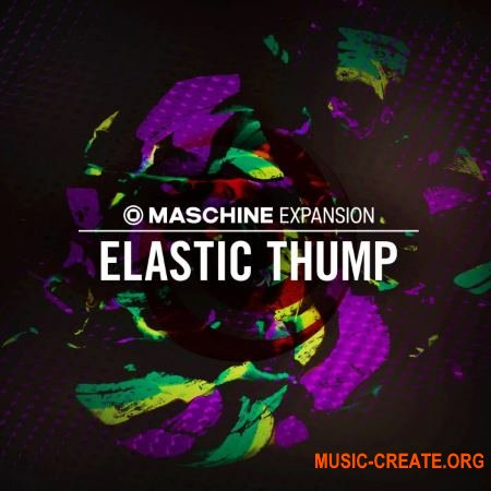 Native Instruments Maschine Expansion Elastic Thump v2.0.0 WIN - расширение Maschine