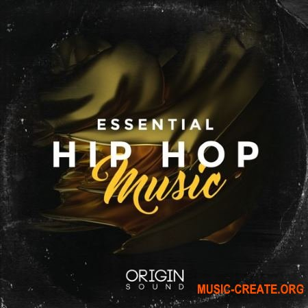Origin Sound Essential Hip Hop Music (WAV MiDi) - сэмплы Hip Hop, Trap