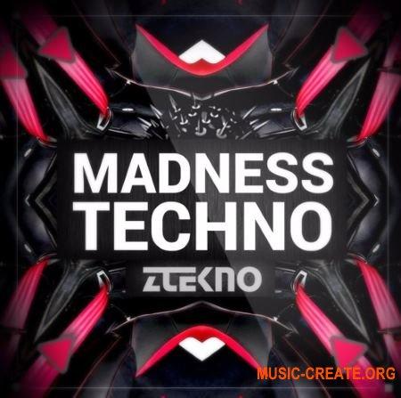 ZTEKNO Madness TECHNO (WAV MiDi SYLENTH1 MASSiVE SYNTHMASTER) - сэмплы Techno