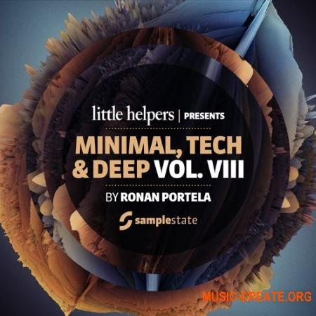 Samplestate Little Helpers Vol. 8 Ronan Portela (MULTiFORMAT) - сэмплы Minimal, Tech, Deep House