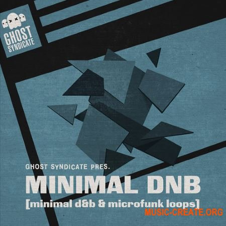 Ghost Syndicate Minimal DnB (WAV) - сэмплы Drum and Bass