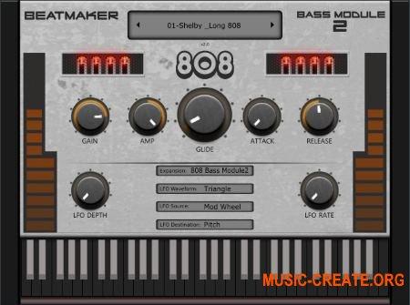 BeatMaker 808 Bass Module 2 v2.5.0 VST VST3 AU MAC/WiN - бас ромплер