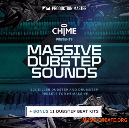 Production Master Chime Massive Dubstep Sounds and Beats (WAV NMSV) - сэмплы Dubstep