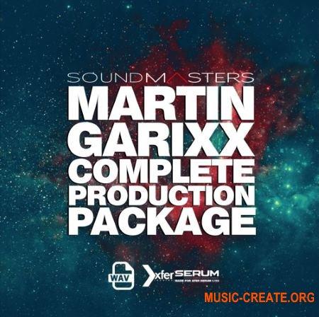 Sound Masters MARTIN GARIXX Complete Production Package (WAV MiDi SERUM ABLETON LiVE PROJECT) - сэмплы Future Bass, Progressive House