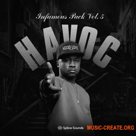 Splice Sounds Havoc Infamous Pack Vol 5 (WAV) - сэмплы Hip Hop