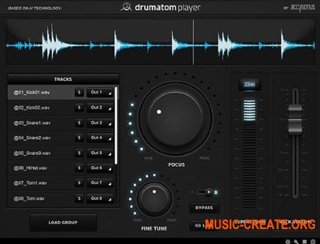 Accusonus Drumatom Player v1.2.1 (Team R2R)