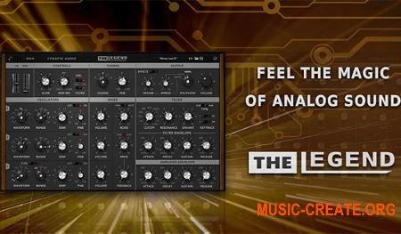 Synapse Audio Software The Legend v1.1.0 CE (Team V.R) - синтезатор