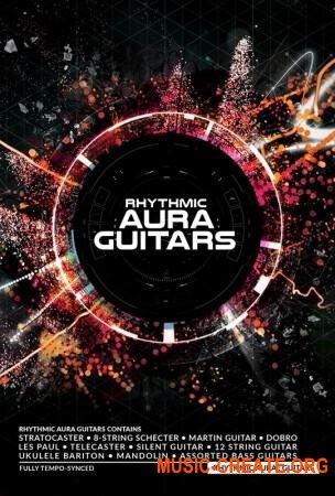 8Dio Rhythmic Aura Guitars (KONTAKT) - библиотека звуков гитар