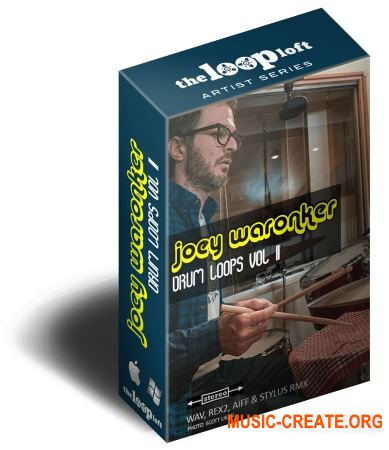 The Loop Loft Joey Waronker Drums Volume 2 (WAV) - сэмплы ударных