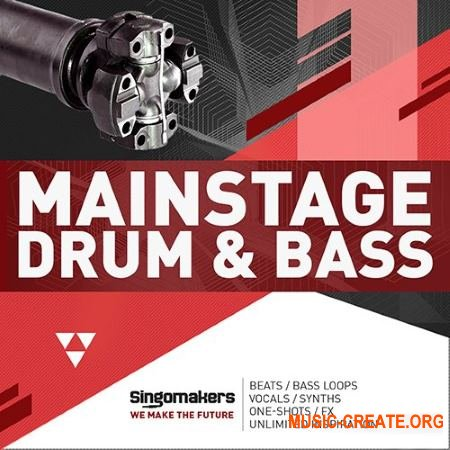 Singomakers Mainstage Drum and Bass (MULTiFORMAT) - сэмплы DnB