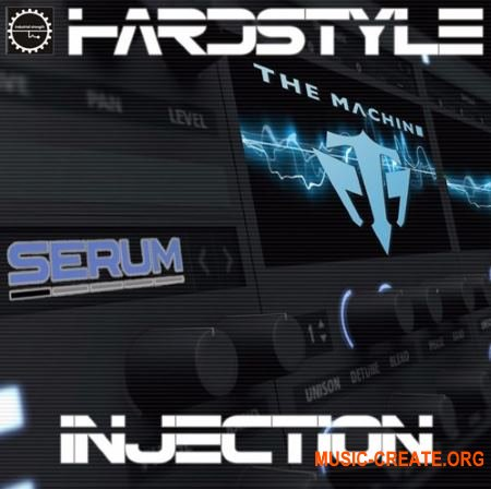 Industrial Strength The Machine Hardstyle Injection (MULTiFORMAT) - сэмплы Hardstyle