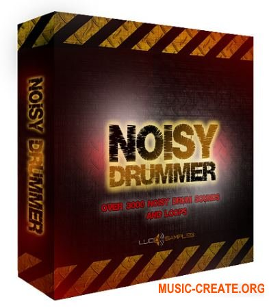 Lucid Samples Noisy Drummer (WAV) - сэмплы ударных