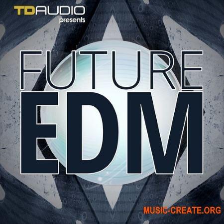 Industrial Strength TD Audio Future EDM (WAV MiDi Sylenth1 Spire Fruity Loops Template) - сэмплы EDM