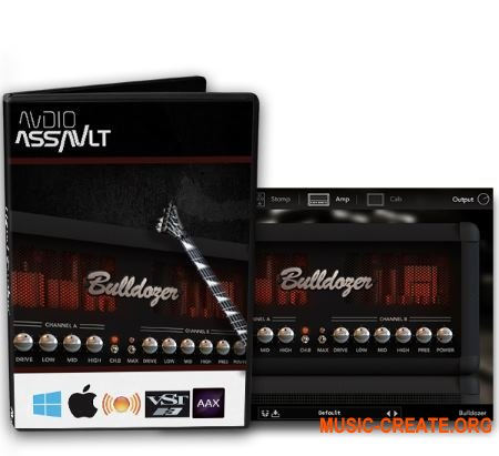Audio Assault Bulldozer v1.2 WiN / OSX RETAiL (SYNTHiC4TE) - гитарный усилитель