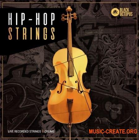 Black Octopus Sound Hip Hop Strings (WAV) - сэмплы струнных