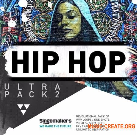 Singomakers Hip Hop Ultra Pack 2 (MULTiFORMAT) - сэмплы Hip Hop, Rap
