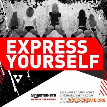 Singomakers Express Yourself (MULTiFORMAT) - сэмплы Trap, House, Moombahton, Tropical Bass, Reggaeton, Bass