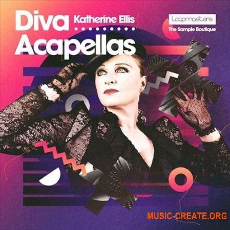 Loopmasters Katherine Ellis - Diva Acapellas (WAV REX2) - вокальные сэмплы