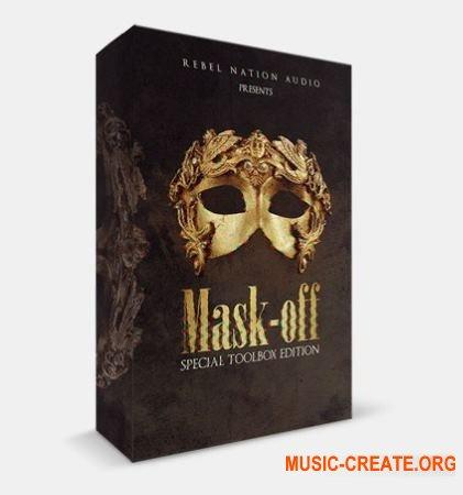 Rebel Nation Audio Mask-Off Special Toolbox Edition (WAV MiDi) - сэмплы Hip Hop, Trap