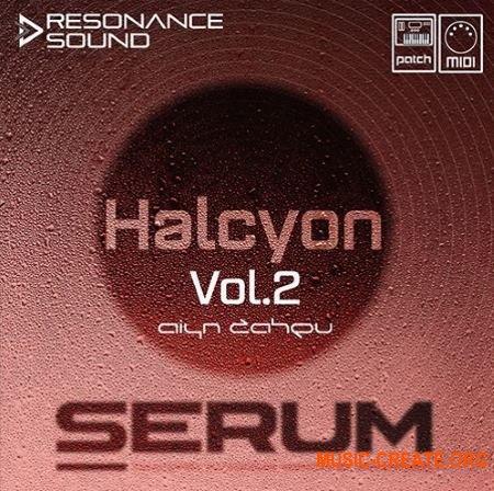 Resonance Sound Aiyn Zahev Sounds Halcyon Vol.2 Serum (FXB MiDi)