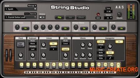 Applied Acoustics Systems String Studio VS-2 v2.1.2 WiN/MAC (Team AiR) - струнный синтезатор