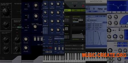 KORG Legacy Collection Special Bundle v1.1.1 MacOSX (Team R2R) - сборка синтезаторов KORG