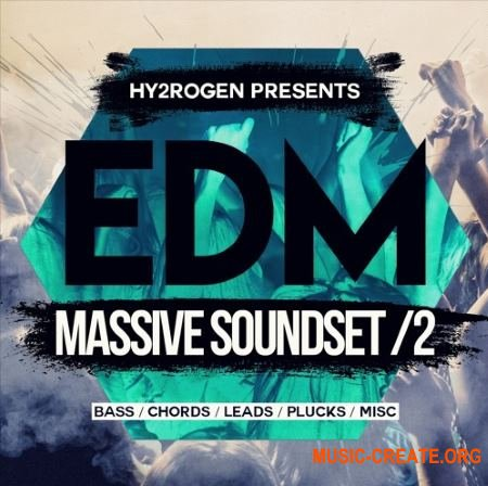HY2ROGEN EDM Massive Soundset 2 (Massive presets)