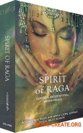 Zero-G Spirit Of Raga (MULTiFORMAT) - вокал в индийском стиле