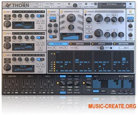 Dmitry Sches Thorn v1.0 CE WIN / MAC (Team V.R) - синтезатор